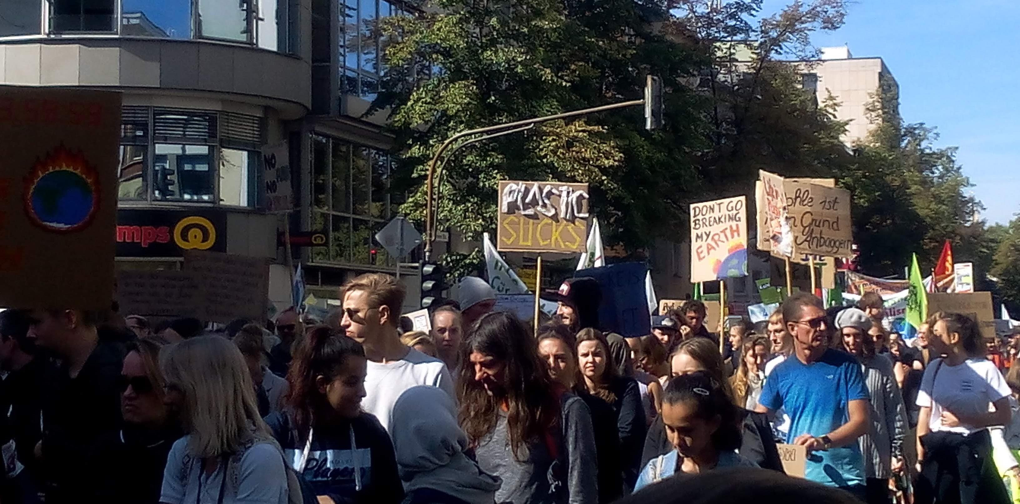 Klimastreik Köln-1 Das gepflegte Wort Text Lektorat PR