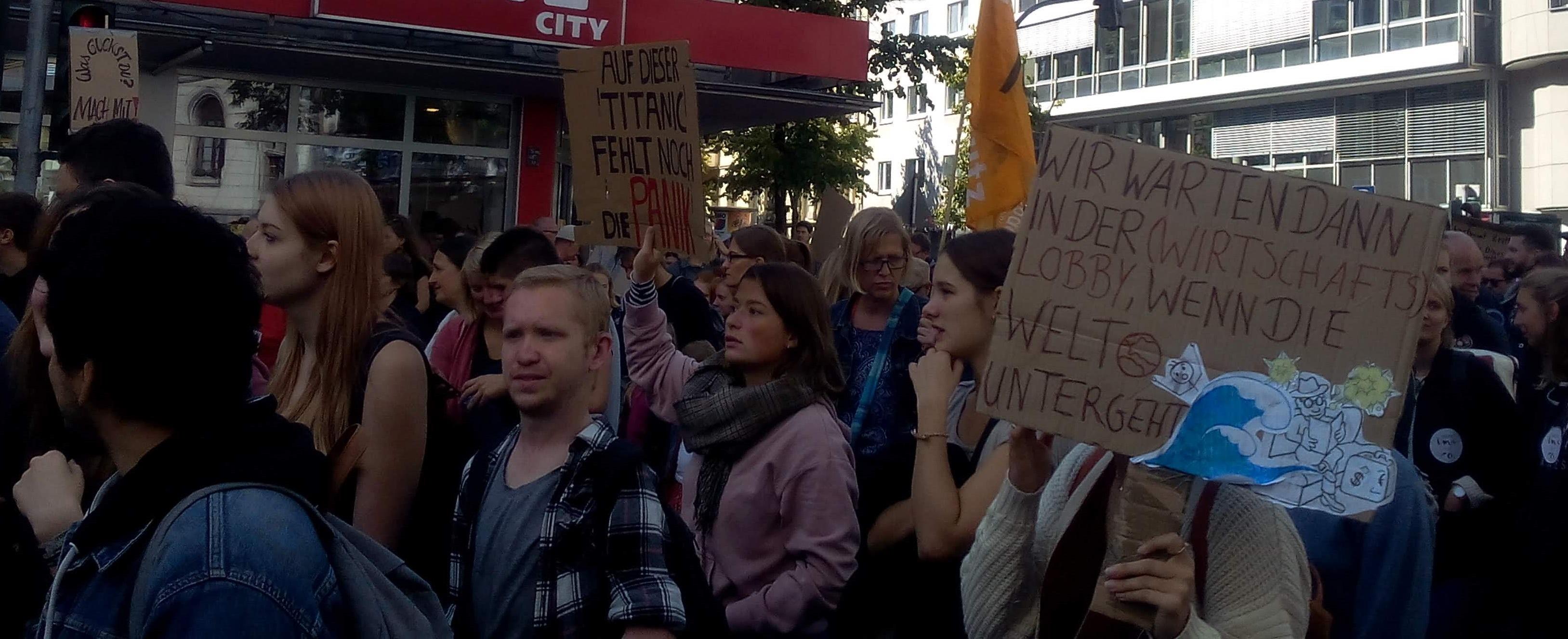 Klimastreik Köln-3 Das gepflegte Wort Texte Lektorat PR